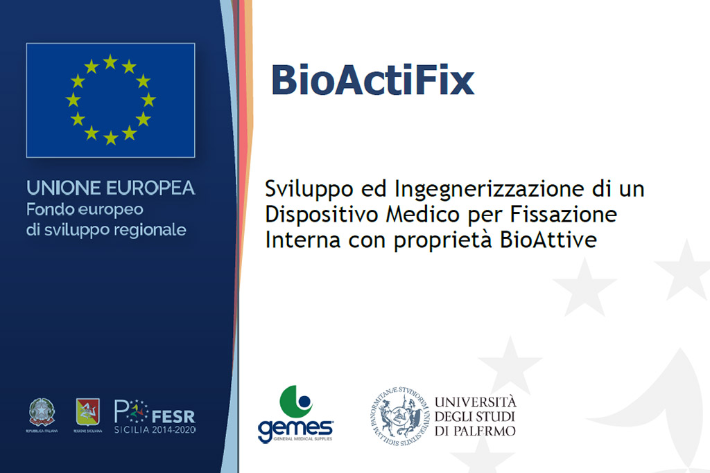 Progetto BioActifix- Gemes