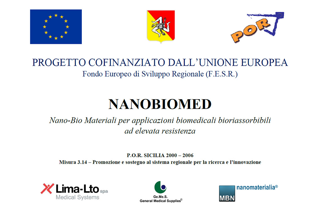 Progetto Nanobiomed - Gemes